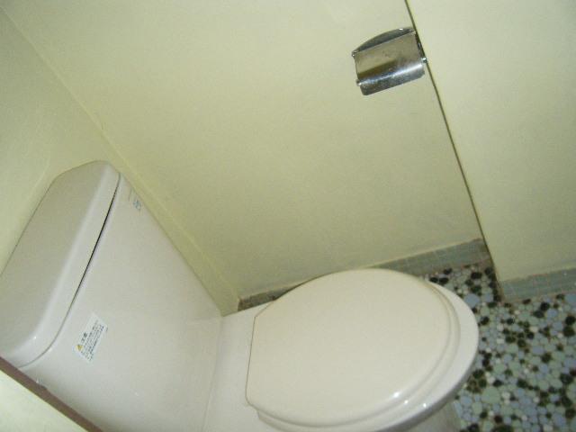 白容荘 2A号室のトイレ