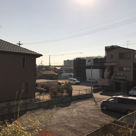 白容荘 2A号室の景色
