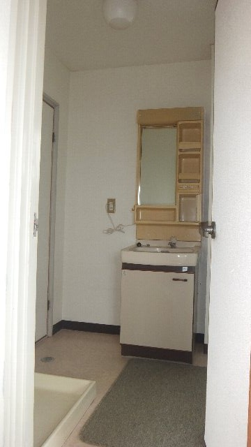 池ノ島ビル 3号室の洗面所