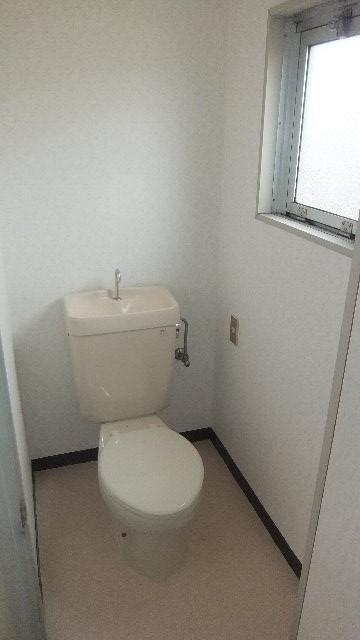 池ノ島ビル 3号室のトイレ