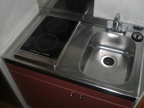 レオパレスソルジェンテ 204号室のキッチン