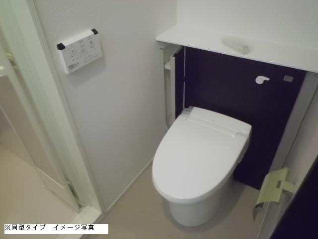 メゾン・ド・ソレイユ 02030号室のトイレ