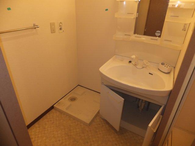 グランデージ則武 902号室の洗面所