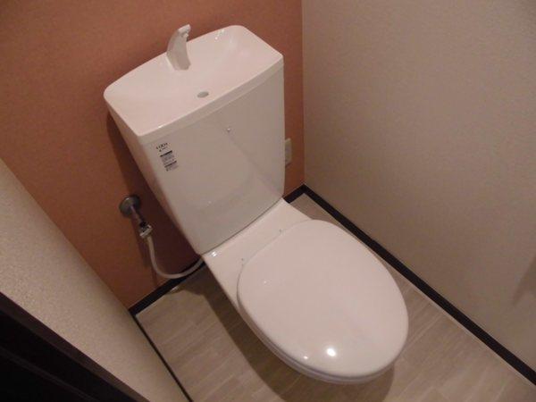 第3西垣ハイツ 403号室のトイレ