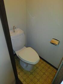 コーポいぶき 203号室のトイレ
