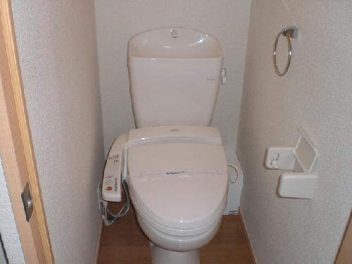 レオパレス山王 401号室のトイレ
