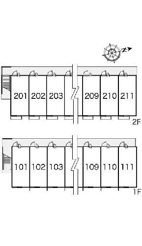 レオパレスソルジェンテ 202号室のその他