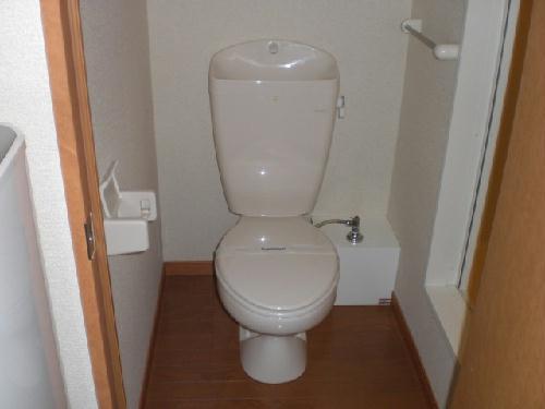 レオパレスプレジール山王 202号室のトイレ