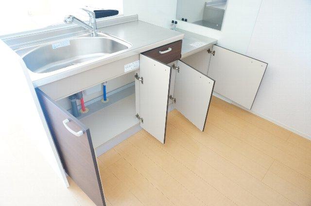 グランディールJ 103号室のキッチン