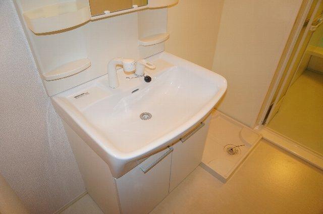 グランディールJ 103号室の洗面所