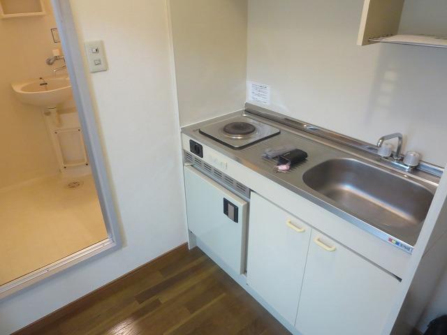 第二ローレルハイツ大岡山 101号室のキッチン