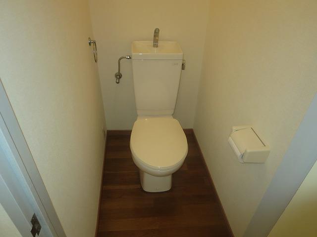 第二ローレルハイツ大岡山 101号室のトイレ