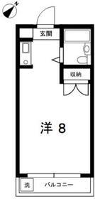 高砂ビル・301号室の間取り