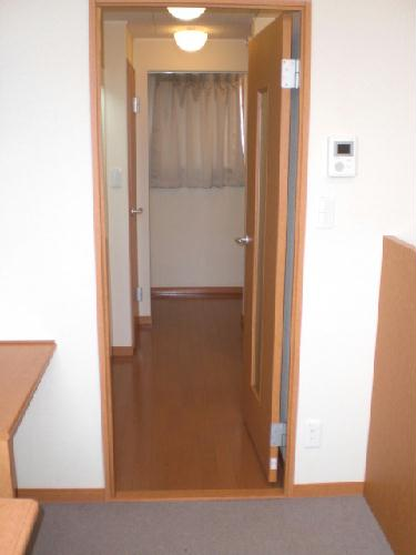 レオパレスレザン 101号室の玄関