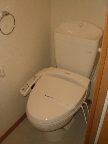 レオパレスレザン 101号室のトイレ