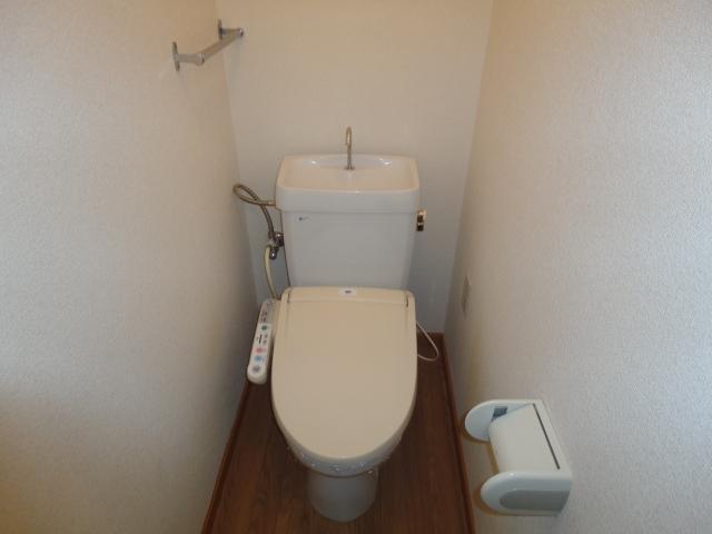 シティーマンション西伏屋 00302号室のトイレ