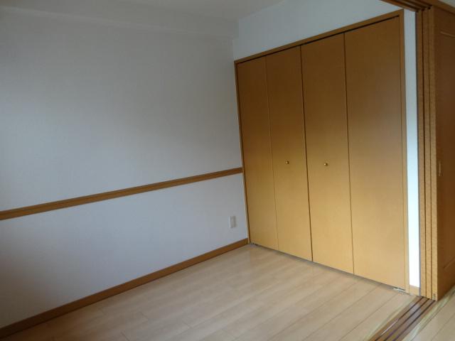 ヴェルジュコートⅠ 804号室のベッドルーム