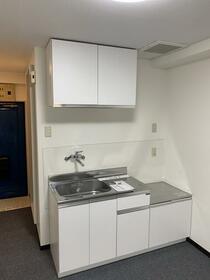 鹿島ハイツ戸越 205号室のキッチン
