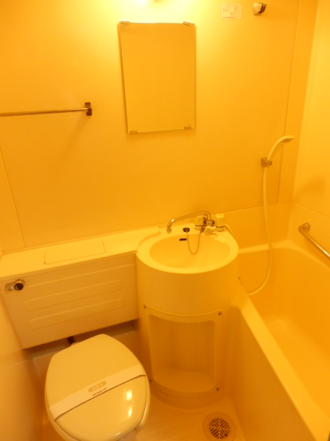 ハイタウン学芸大学 112号室のトイレ