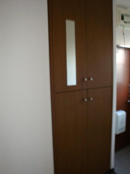 リバーサイド三日月 301号室の玄関
