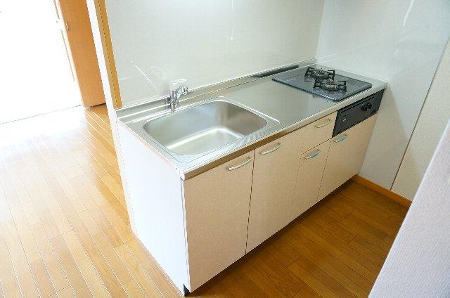 コーポのぼる 202号室のキッチン