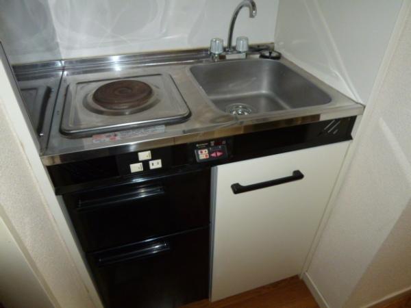 レオパレス21高杉 103号室のキッチン