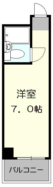ラフィネ新栄 508号室の間取り