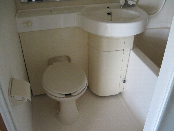 ラフィネ新栄 508号室の洗面所