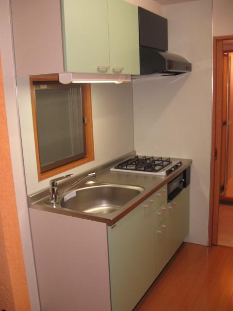 ウイステリア 202号室のキッチン