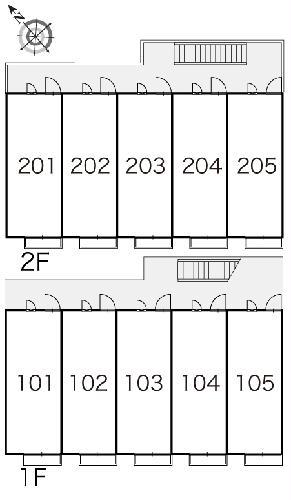 レオパレスフローラ 205号室のその他共有