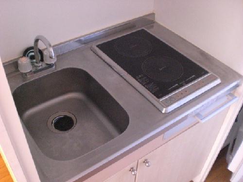 レオパレスフローラ 205号室のキッチン