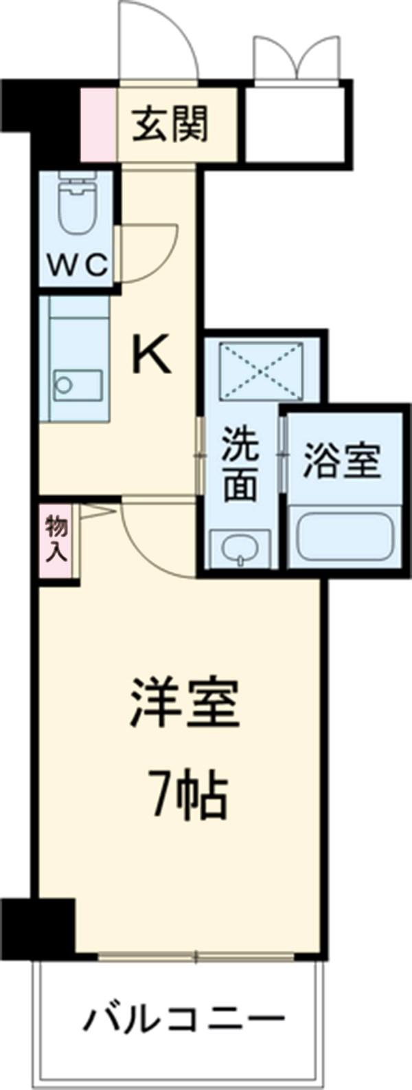 PONTE ALTO 新栄・905号室の間取り