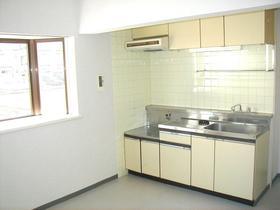ラ・メゾン東所沢 105号室のキッチン