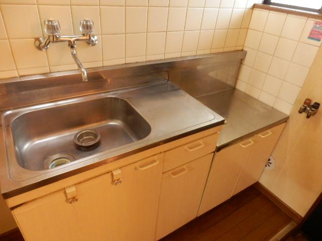 グリーンメゾン 102号室のキッチン