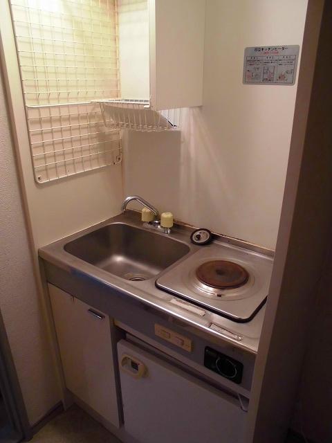 ライフピアグラフティー 203号室のキッチン