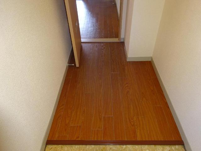 ロイヤルコープM 00301号室の玄関