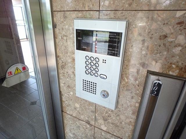 グランデ土橋Ⅱ 206号室のセキュリティ