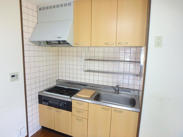グランデ土橋Ⅱ 206号室のキッチン