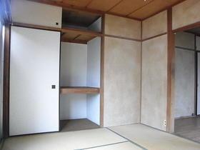 伸栄荘 201号室のリビング