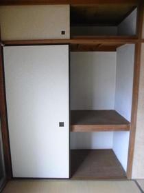 伸栄荘 201号室の玄関
