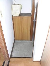 伸栄荘 201号室の収納