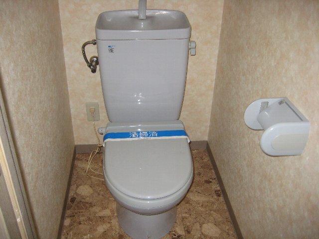 第2山忠ビル 302号室のトイレ