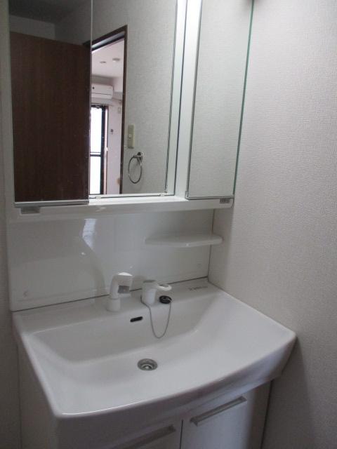 サニープレスキャッスルA 301号室の洗面所