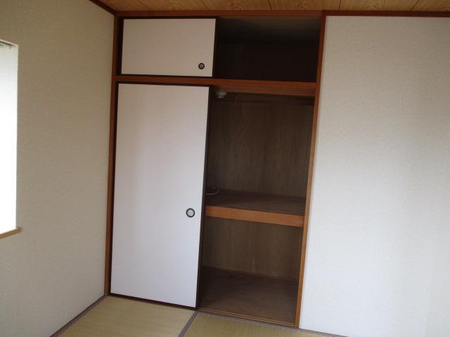 サニープレスキャッスルA 301号室の収納