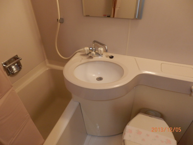 シャンポール並木 205号室の洗面所