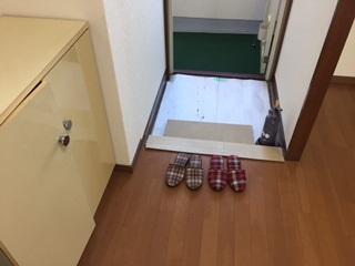 サァラ成増 20D号室の玄関