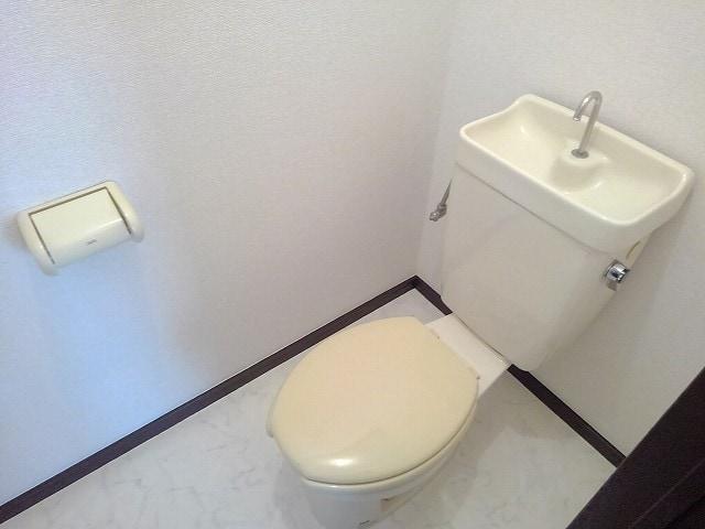 アネックスK 01010号室のトイレ