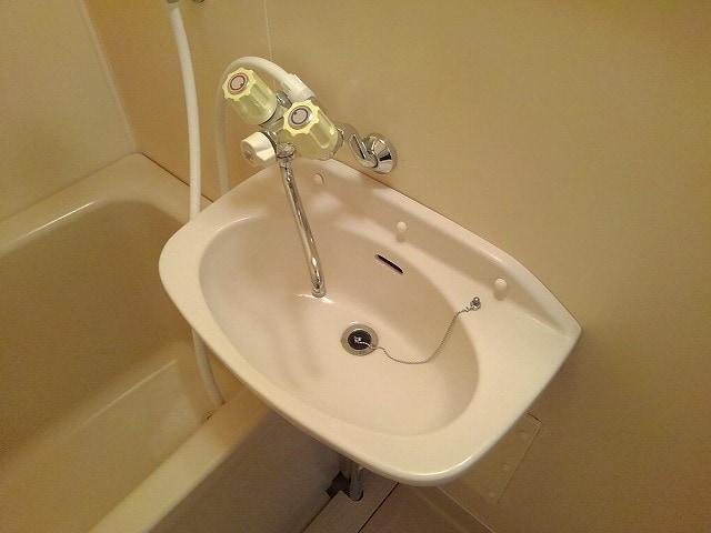 アネックスK 01010号室の洗面所