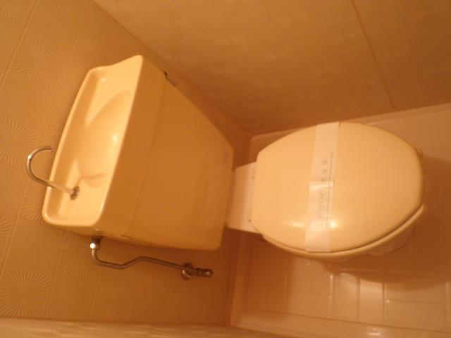 三沢第2マンションりわ 317号室のトイレ