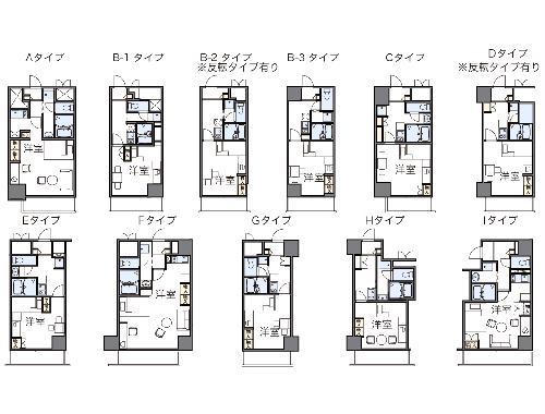 レオパレスFlat新栄・335号室の間取り